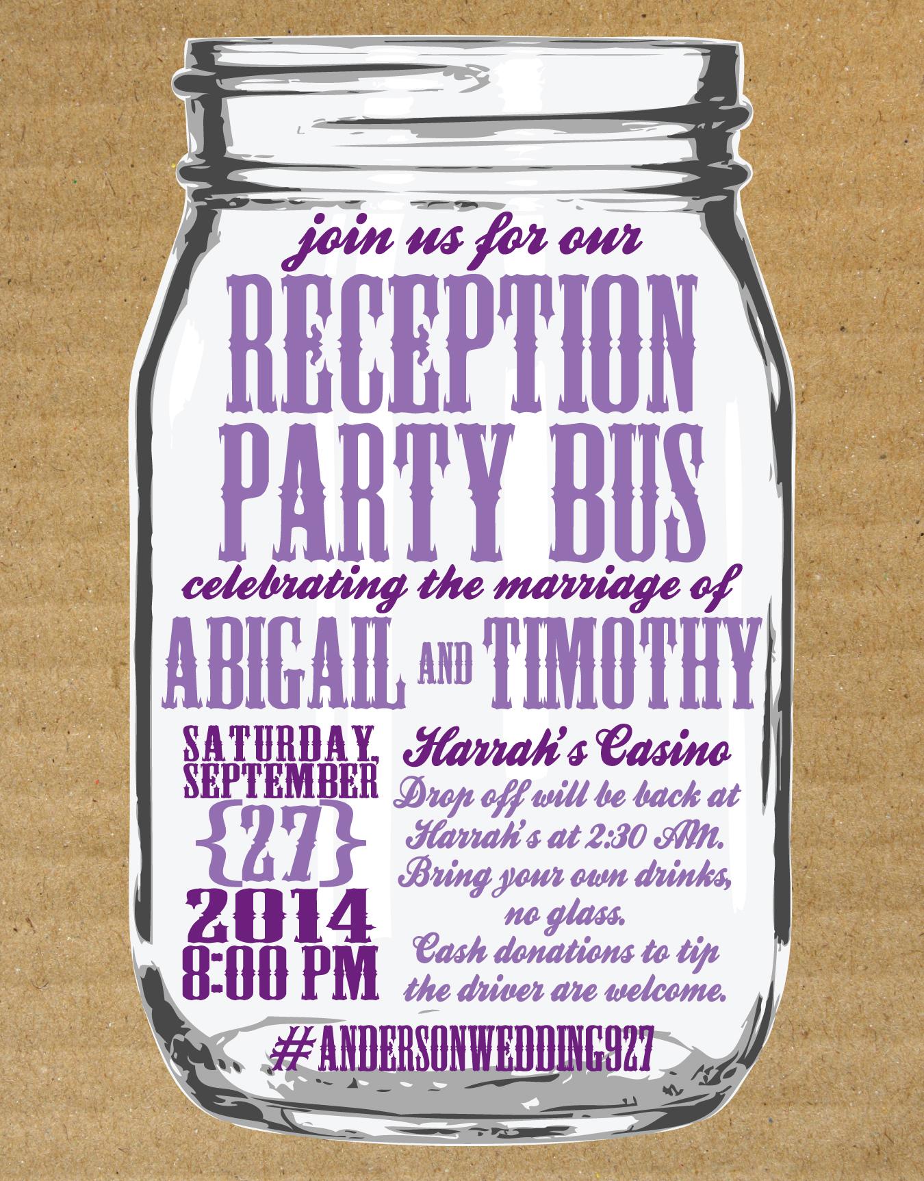 invitations wedding bridal shower bachelorette etc  jojo's, party invitations